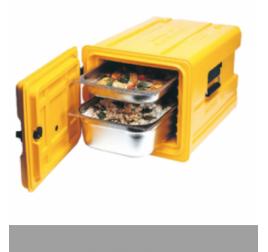GN1/1-es elöltöltős thermobox (52 literes)