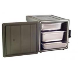 GN2/1-es elöltöltős thermobox levehető ajtóval