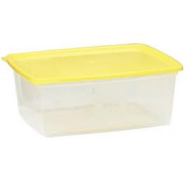 2,5 literes mikrózható/fagyasztható ételhordó színes fedővel 40 db / gyűjtő