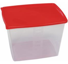 4,5 literes mikrózható/fagyasztható ételhordó színes fedővel 40 db / gyűjtő