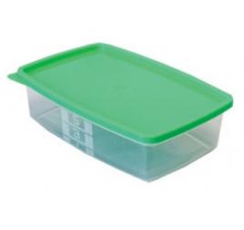 0,5 literes mikrózható/fagyasztható ételhordó színes fedővel 100 db / gyűjtő