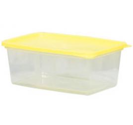 0,8 literes mikrózható/fagyasztható ételhordó színes fedővel 100 db / gyűjtő