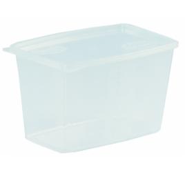 1,2 literes mikrózható/fagyasztható ételhordó fedővel 100 db / gyűjtő