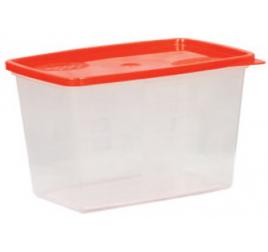 1,2 literes mikrózható/fagyasztható ételhordó színes fedővel 100 db / gyűjtő