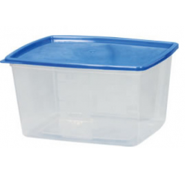 3,5 literes mikrózható/fagyasztható ételhordó színes fedővel 40 db / gyűjtő