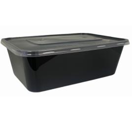 Étel szállítódoboz fedővel (750 ml) 300 db / gyűjtő