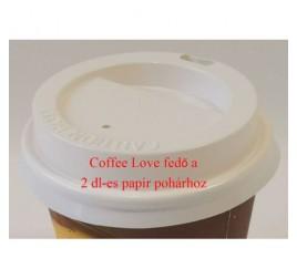 2 dl-es papírpohárhoz fedő, ivó-lyukkal 1 000 db / gyűjtő