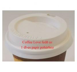 1 dl-es papírpohárhoz fedő, ivó-lyukkal 1 000 db / gyűjtő