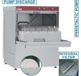 45x45 cm-es Diamond ürítőszivattyús tányér- és pohármosogatógép
