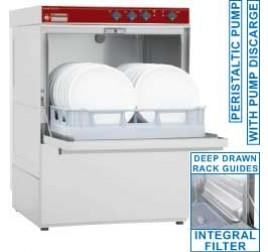 50x50 cm-es Diamond ürítőszivattyús tányér- és pohármosogatógép