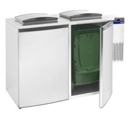 Diamond hűtött hulladéktároló 2 konténerhez