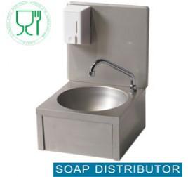 Diamond fali kézmosó szappanadagolóval, hidegvizes kifolyókarral
