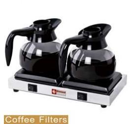 2 lapos Diamond kávé melegentartó