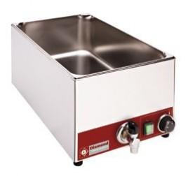 GN1/1-es Diamond asztali elektromos melegentartó leeresztőcsappal