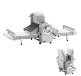 Diamond asztali tésztanyújtó gép, 500x750 mm-es nyújtási felülettel