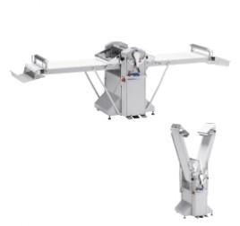 Diamond állványos tésztanyújtó gép, 500x1000 mm-es nyújtási felülettel