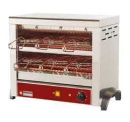 2 szintes Diamond toaster 6 db sütőrostéllyal