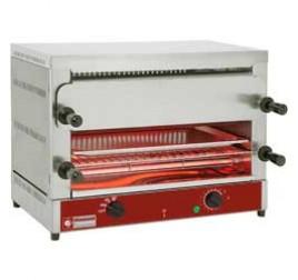 2 szintes Diamond toaster-szalamander  2x 520x320 mm-es sütőráccsal