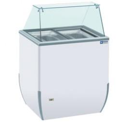 Diamond fagylalt hűtőpult 4 tégelyes