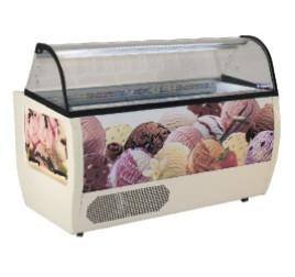 Diamond fagylalt hűtőpult 13+16 tégelyes