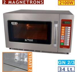 34 literes Diamond mikrohullámú sütő, digitális, 2100W