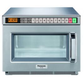 18 literes Panasonic mikrohullámú sütő, digitális, 1600W