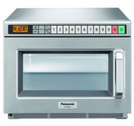 18 literes Panasonic mikrohullámú sütő, digitális, 2100W