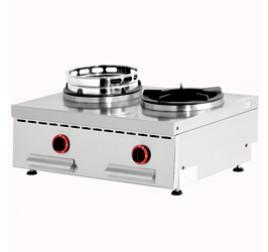 2 égőfejes wok Diamond asztali gáztűzhely