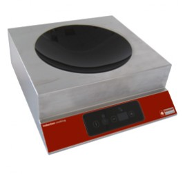 1 zónás indukciós wok Diamond asztali elektromos tűzhely (digitális vezérlés)