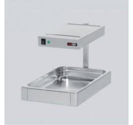 GN 1/1-es RedFox asztali elektromos hőlámpás melegentartó