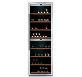180 palackos 2 zónás design borhűtő