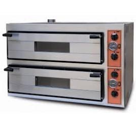 2 aknás Effeuno elektromos pizzakemence 70x70 cm-es kamramérettel