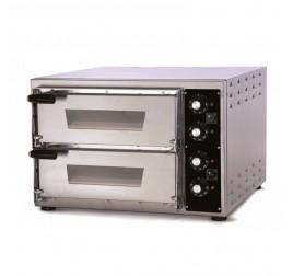 2 aknás Effeuno elektromos pizzakemence 35x41 cm-es kamramérettel