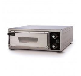 1 aknás Effeuno elektromos pizzakemence 35x41 cm-es kamramérettel