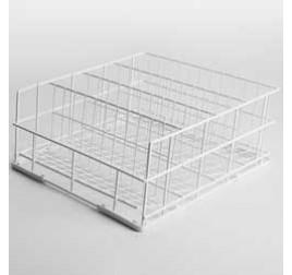 40x40 cm-es Diamond mosogatókosár poharakhoz, 3 rekeszes, rilzánozott
