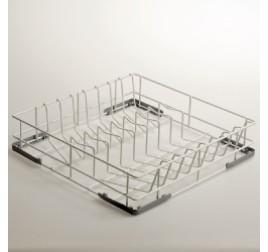 45x45 cm-es Diamond mosogatókosár tányérokhoz, rilzánozott drót