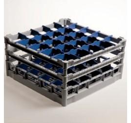 50x50 cm-es Diamond mosogatókosár poharakhoz