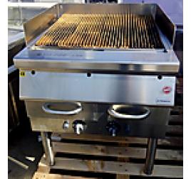 Alpeninox álló gázüzemű vizes grill használt