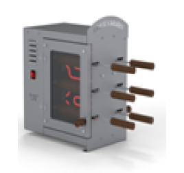 2x3 sütőfás elektromos kürtőskalács sütő gép