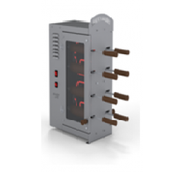 2x4 sütőfás elektromos kürtőskalács sütő gép