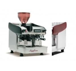 Expobar Megacrem egykaros kávéfőző számlálós darálóval - piros