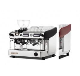Expobar Megacrem kétkaros kávégép számlálós darálóval - piros