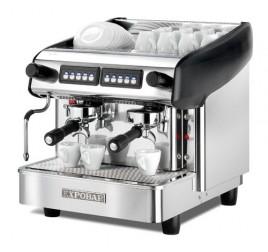Expobar Megacrem Mini Control kétkaros kávégép daráló nélkül - fekete