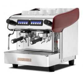 Expobar Megacrem Mini Control kétkaros kávégép daráló nélkül - piros