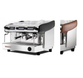 Expobar Megacrem kétkaros kávégép elektronikus adagszámlálóval daráló nélkül - fa borítással