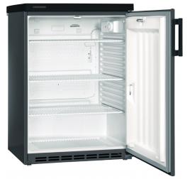 180 literes Liebherr teli ajtós hűtőszekrény - antracit szürke