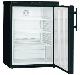 141 literes Liebherr teli ajtós hűtőszekrény - fekete