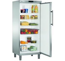 586 literes Liebherr teli ajtós hűtőszekrény - rozsdamentes külsővel