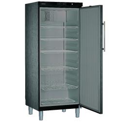586 literes Liebherr teli ajtós hűtőszekrény - fekete, rm