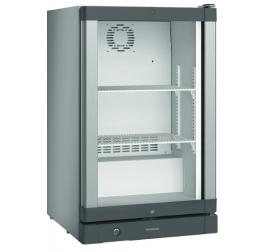 103 literes Liebherr üvegajtós hűtőszekrény - szürke